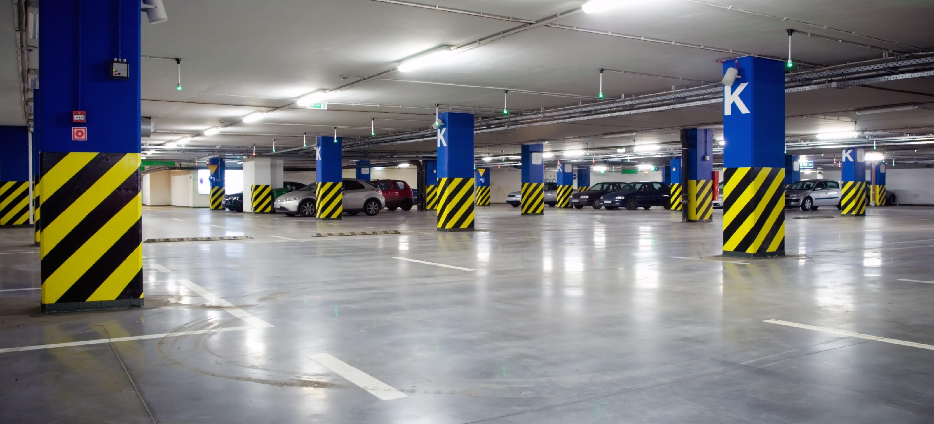 led parking