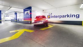 parking interparking balice